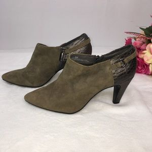 Bandolino suede ankle boots
